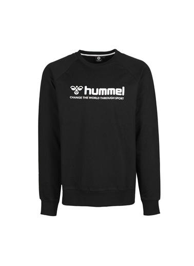 Hummel Erkek Sweatshirt Numas 921116-2001 Siyah